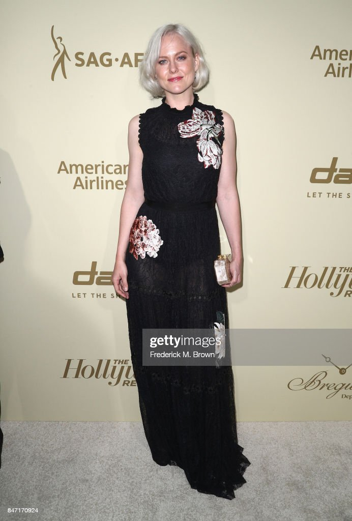 Ingrid Bolso Berdal attends The Hollywood Reporter and SAG-AFTRA Inaugural Emmy Nominees Night presented by American Airlines, Breguet, and Dacor at the Waldorf Astoria Beverly Hills on September 14, 2017 in Beverly Hills, California.