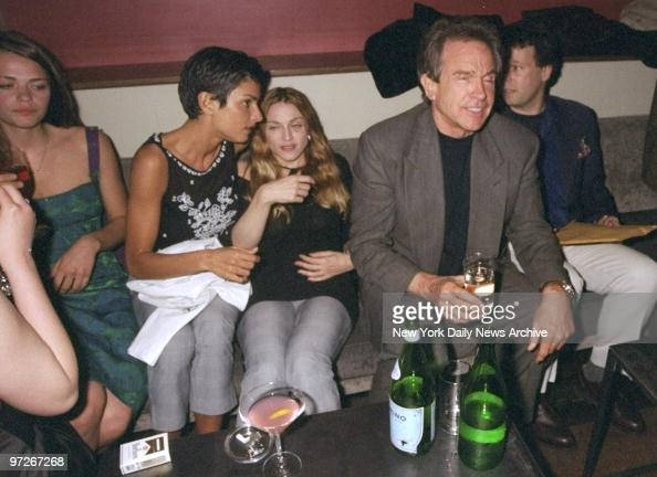 Madonna Warren Beatty Ingrid Cesares and Mad...