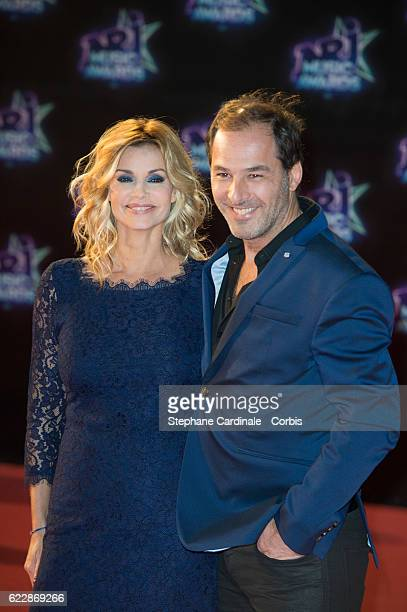 Ingrid Chauvin and husband Thierry Peythieu attend the18th NRJ Music Awards at Palais des Festivals on November 12 2016 in Cannes France