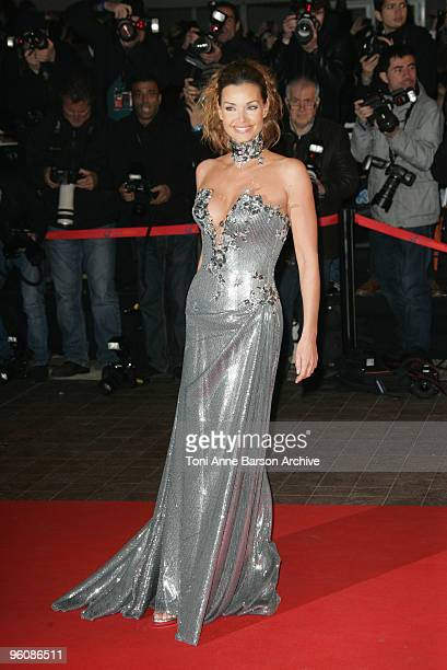 Ingrid Chauvin arrives at NRJ Music Awards at the Palais des Festivals on January 23 2010 in Cannes France