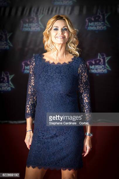 Ingrid Chauvin attends the 18th NRJ Music Awards at Palais des Festivals on November 12 2016 in Cannes France