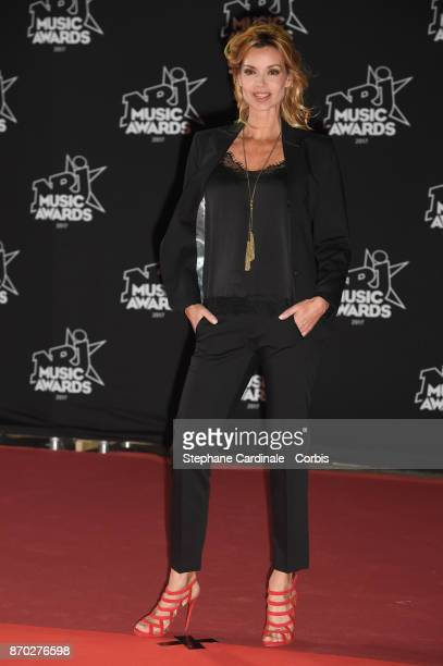 Ingrid Chauvin attends the 19th NRJ Music Awards on November 4 2017 in Cannes France