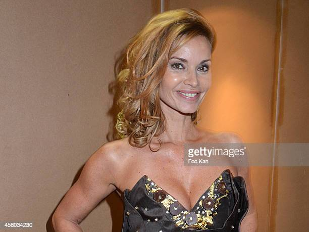 Ingrid Chauvin attends the 'Salon Du Chocolat Chocolate Fair 20th Anniversary' At the Parc des Expositions Porte de Versailles on October 28 2014 in...