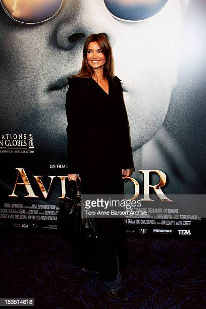 Ingrid Chauvin during The Aviator Paris Premiere at UGC Normandy in Paris France