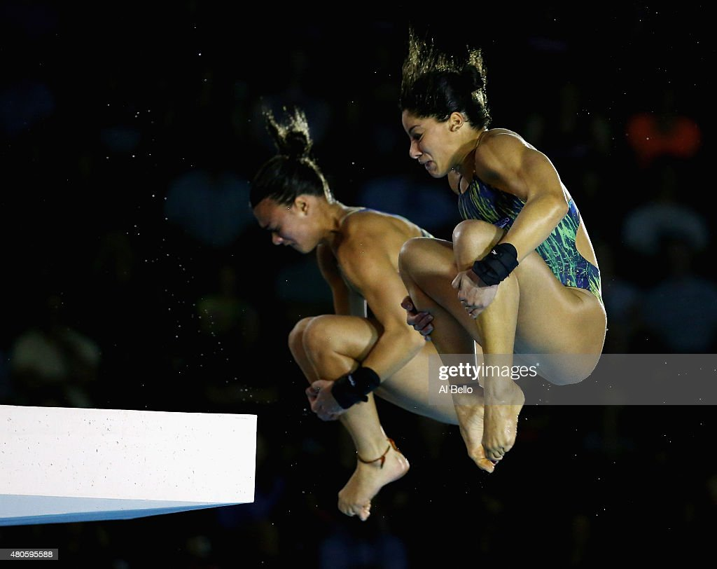 At the pan am games on july 13 2015 in toronto canada show more