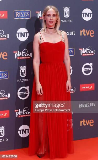 Ingrid Garcia Jonsson attends Platino Awards 2017 at La Caja Magica on July 22 2017 in Madrid Spain
