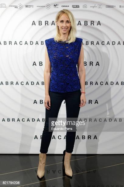 Ingrid Garcia Jonsson attends the 'Abracadabra' premiere at Palacio de la Prensa cinema on July 24 2017 in Madrid Spain