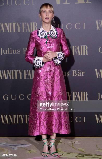 Ingrid Garcia Jonsson attends the gala 'Vanity Fair Personality of the Year' to Garbine Muguruza at Ritz Hotel on November 21 2017 in Madrid Spain