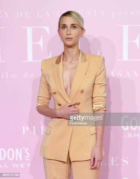 Ingrid Garcia Jonsson attends the 'Pieles' premiere pink carpet at Capitol cinema on June 7 2017 in Madrid Spain