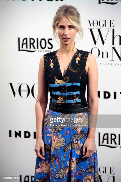 Ingrid Garcia Jonsson attends VI Vogue Who's On Next party at El Principito on May 18 2017 in Madrid Spain