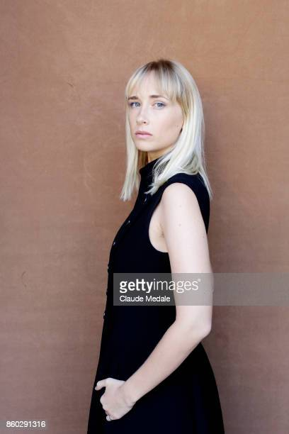 Ingrid GarciaJonsson is seen posing during a portrait session at Maria Cristina Hotel on September 24 2017 in San Sebastian Spain