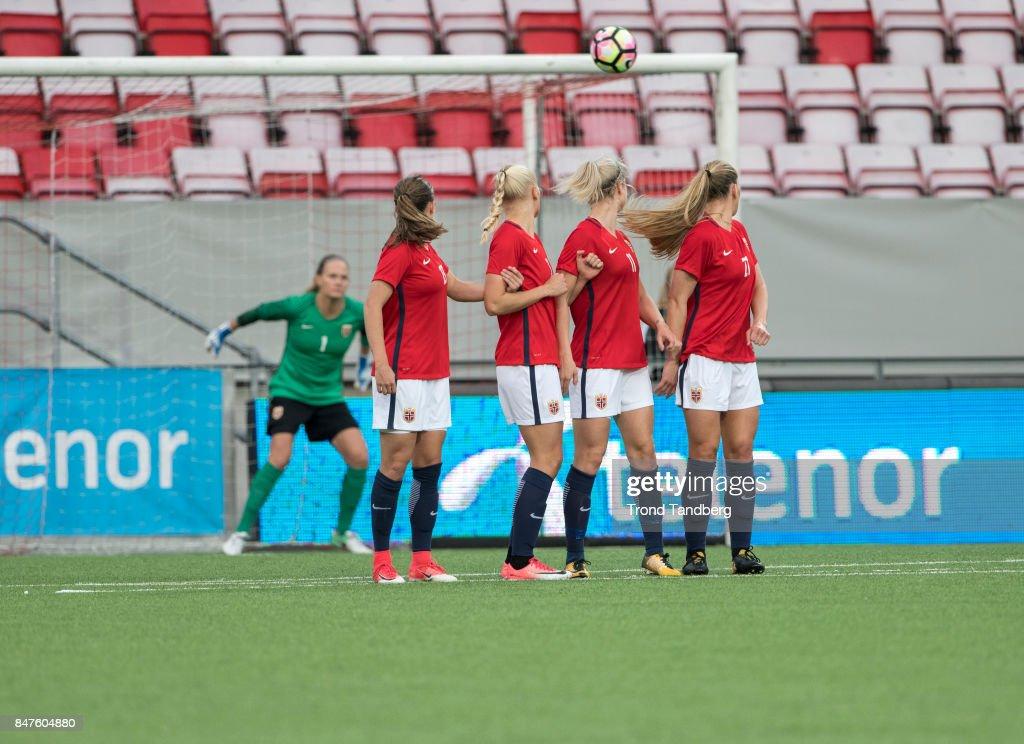 Norway v Northern Ireland - FIFA Women's World Cup Qualifier