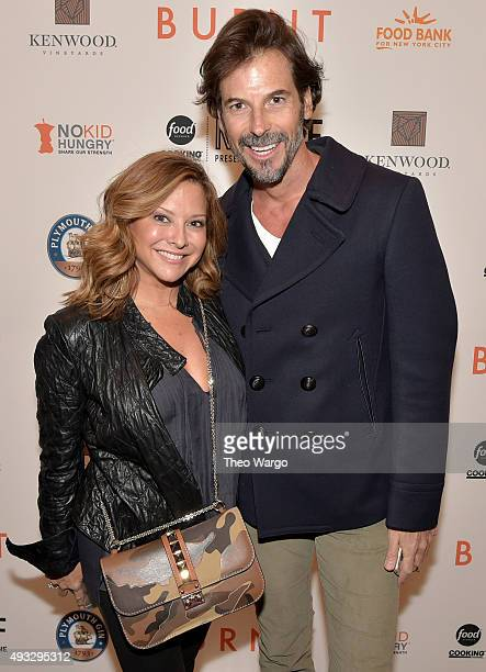 Ingrid Hoffmann attends the Private Screening Of BURNT QA Panel And Reception With Bradley Cooper And Sienna Miller during Food Network Cooking...