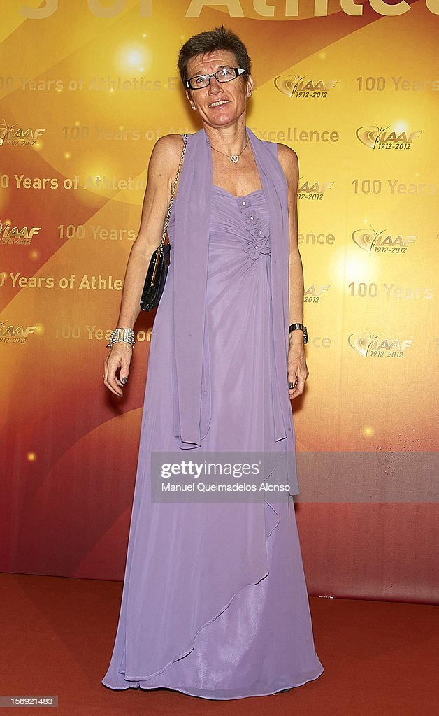 Ingrid Kristiansen of Norway attends the IAAF Centenary Gala at the Museo Nacional d'Art de Catalunya on November 24, 2012 in Barcelona, Spain.