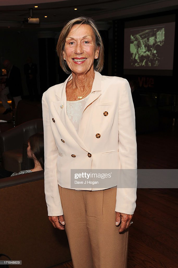 Ingrid Lofdahl-Bentzer attends the UK premiere of 'Battle Of The Sexes' at The Vue Leicester Square on June 26, 2013 in London, England.