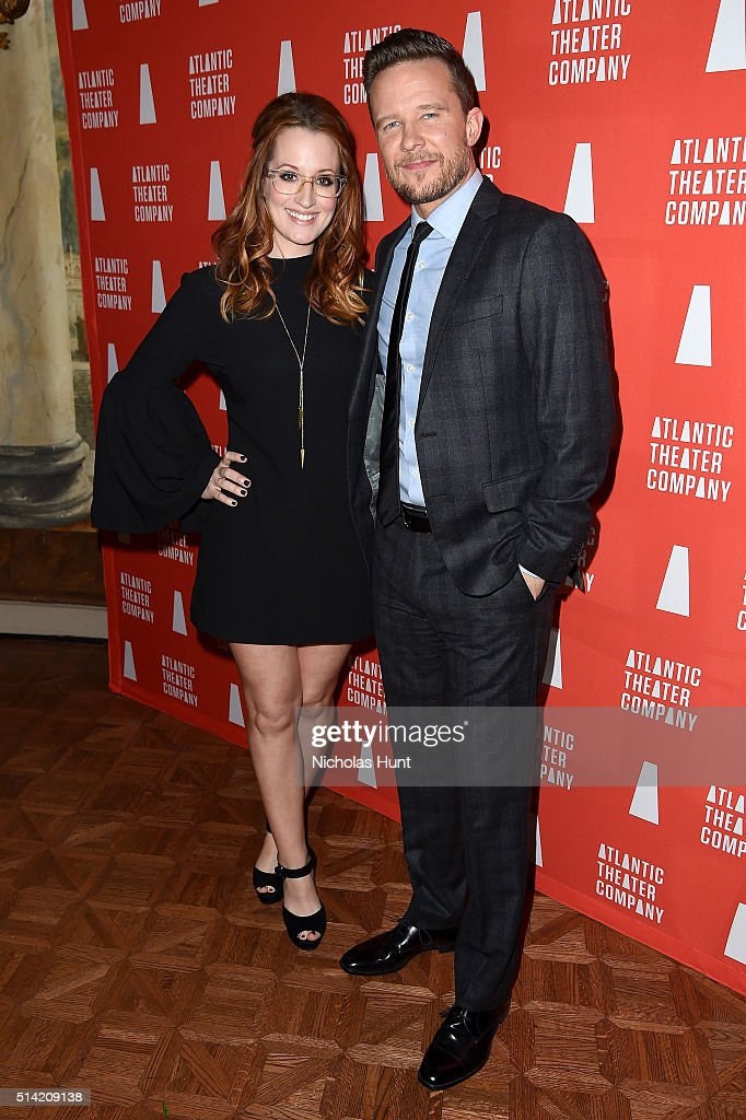 Ingrid Michaelson and Will Chase attend the 2016 Atlantic Theater Company Actors' Choice Gala at The Pierre Hotel on March 7 2016 in New York City
