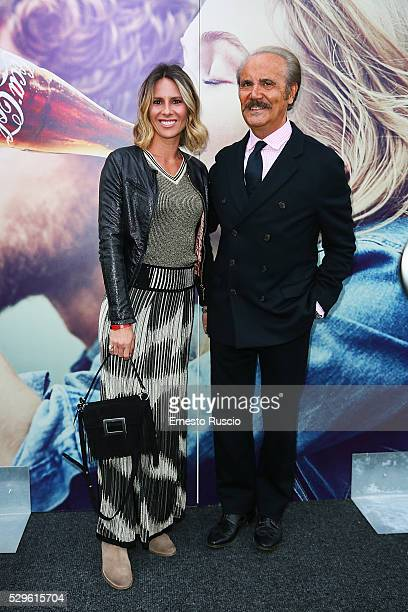 Ingrid Muccitelli and Mauro Masi attend the CocaCola anniversary party at Foro Italico on May 08 2016 in Rome
