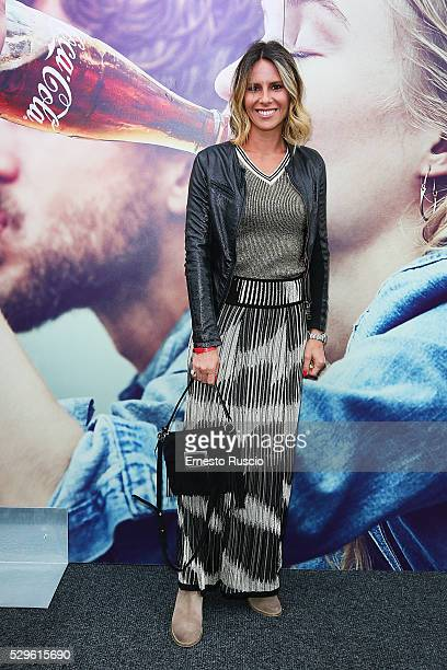 Ingrid Muccitelli attends the CocaCola anniversary party at Foro Italico on May 08 2016 in Rome