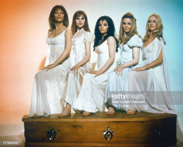 Ingrid Pitt Polish actress Pippa Steel British actress Kate O'Mara British actress Madeline Smith British actress and Kirsten Betts Danish actress...