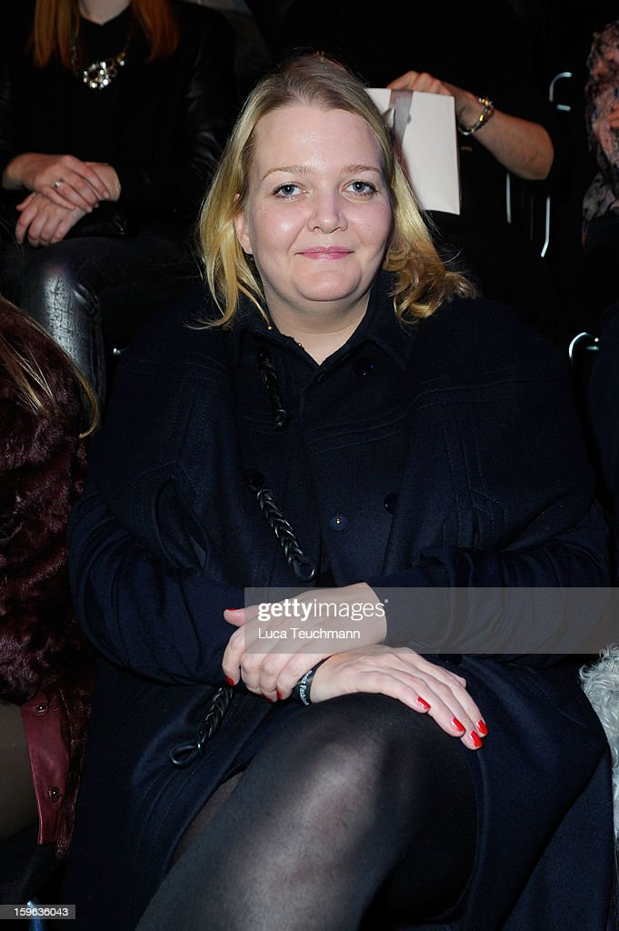 Ingrid Rose attends the Laurel Autumn/Winter 2013/14 fashion show during Mercedes-Benz Fashion Week Berlin at Brandenburg Gate on January 17, 2013 in Berlin, Germany.