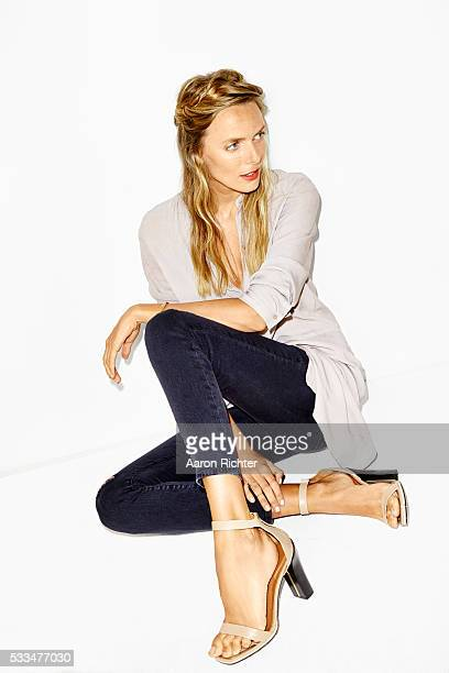 Ingrid Schram is photographed for Aritzia #FallForUs in 2014 in Los Angeles California PUBLISHED IMAGE