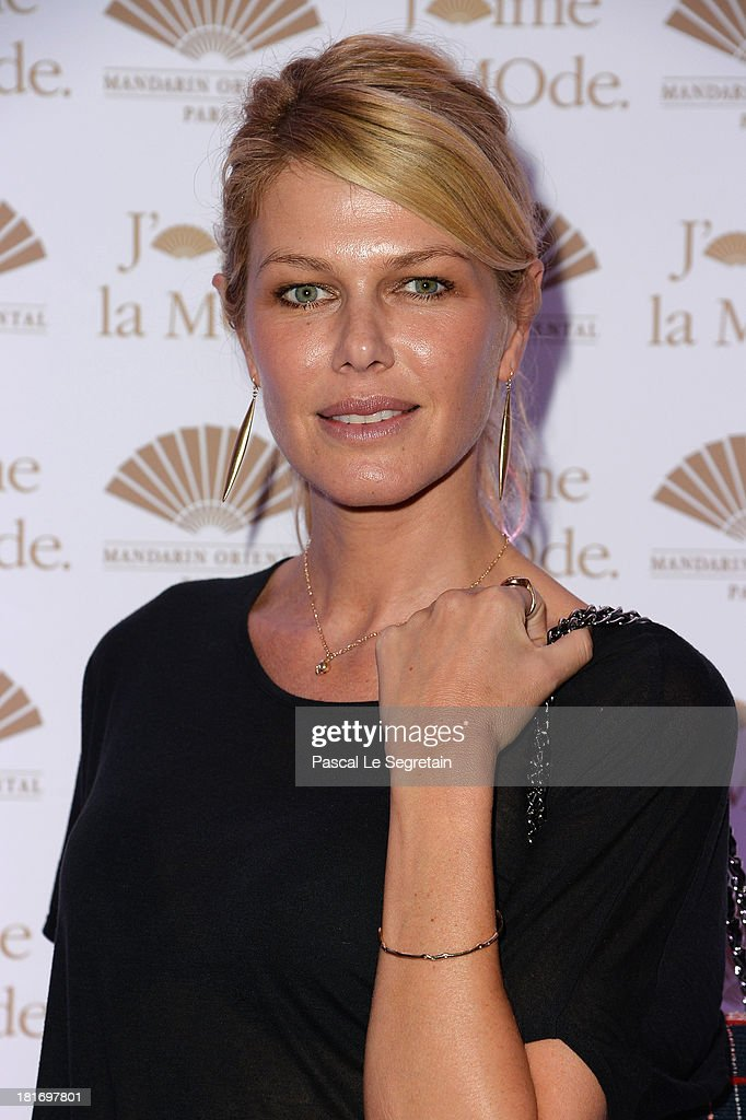 <a gi-track='captionPersonalityLinkClicked' href=/galleries/search?phrase=Ingrid+Seynhaeve&family=editorial&specificpeople=624103 ng-click='$event.stopPropagation()'>Ingrid Seynhaeve</a> attends the 'J'Aime La Mode' Cocktail Event Hosted by Chef Thierry Marx at Hotel Mandarin Oriental on September 23, 2013 in Paris, France.