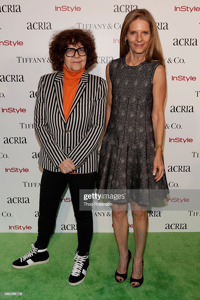 Ingrid Sischy and Sandra Brant attend the 19th Annual ACRIA Holiday Dinner at Skylight Modern on December 10, 2014 in New York City.