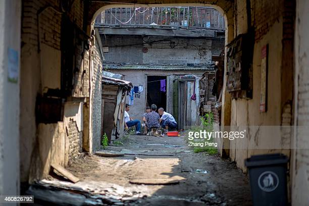 Inhabitants still live in the building which is dilapidated out of repair for long years dirty and broken Lao Daowai is a historic district and the...