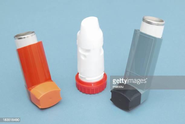 Inhaler for asthma.