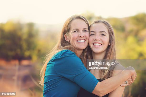 Inherited beauty - mom and daughter