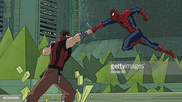 WEB WARRIORS 'Inhumanity' SpiderMan and Triton must stop a war between SHIELD and The Inhumans This episode of 'Marvel's Ultimate SpiderMan...