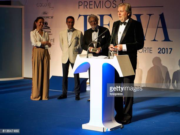 Inigo Mendez de Vigo attends Arts Sciences and Sports Telva Awards 2017 at Palau de Les Arts Reina Sofia on July 12 2017 in Valencia Spain
