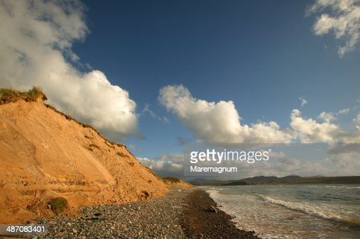 Inishowen peninsula, landscape near the Malin Head
