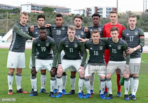Initial Team of Germany U17 Lars Lukas Mai Elias Abouchabaka Maurice Malone JoseEnrique Rios Alonso Jesaja Herrmann Christian Früchtl Erik...