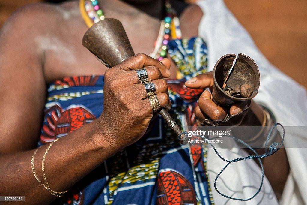 initiation ceremony voodoo in possotome, benin