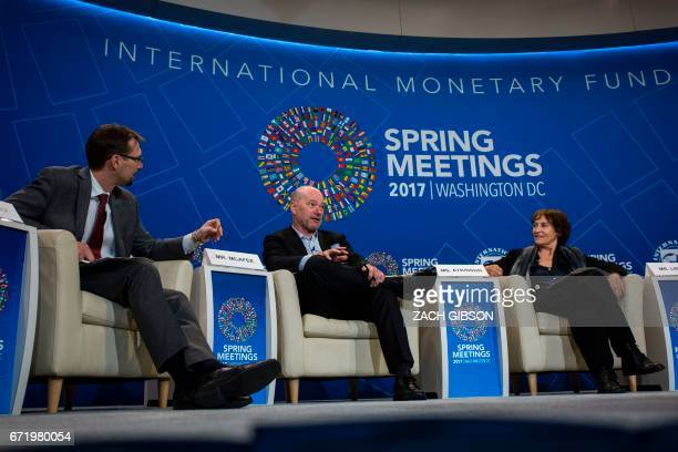 MIT Initiative on the Digital Economy Andrew McCafee speaks during a panel discussion on the effects of digitalization and technology on fiscal...