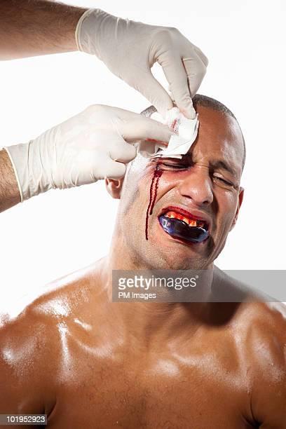 Injured Boxer