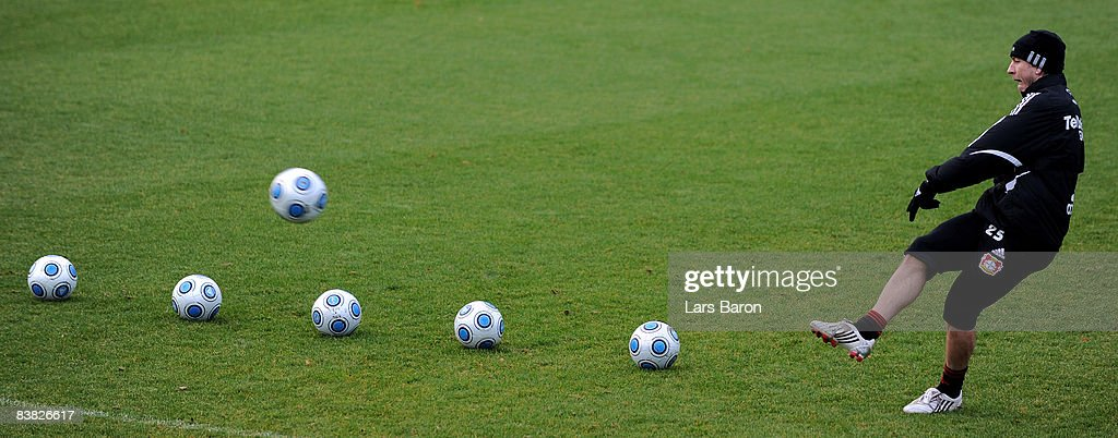 Bayer Leverkusen Training Session