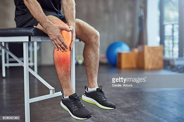 Injuries happens when you workout
