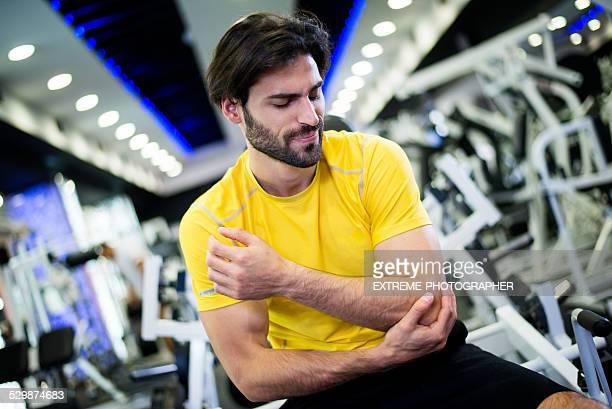 Lesione causata dalla routine di allenamento