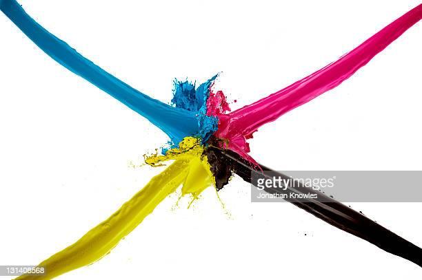 Ink in CMYK color