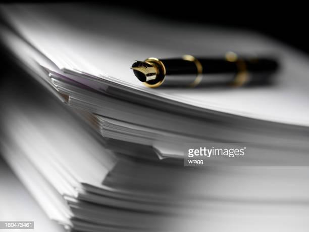インクペンでの書類のトップページ