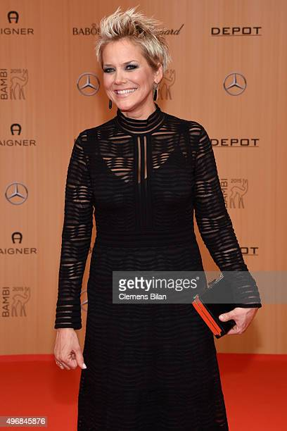 Inka Bause attends the Bambi Awards 2015 at Stage Theater on November 12 2015 in Berlin Germany