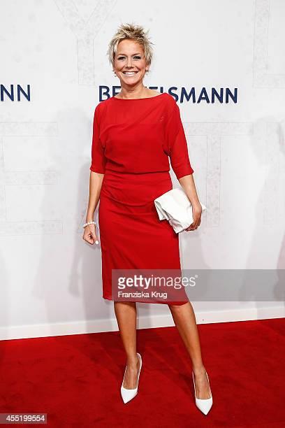 Inka Bause attends the Bertelsmann Summer Party at the Bertelsmann representative office on September 10 2014 in Berlin Germany