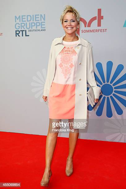 Inka Bause attends the VPRT Hosts Summer Party at Cafe Moskau on September 09 2014 in Berlin Germany