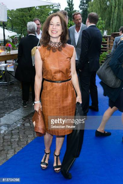 Inka Friedrich attends the summer party 2017 of the German Producers Alliance on July 12 2017 in Berlin Germany