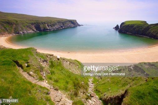 Inlet in northern Ireland