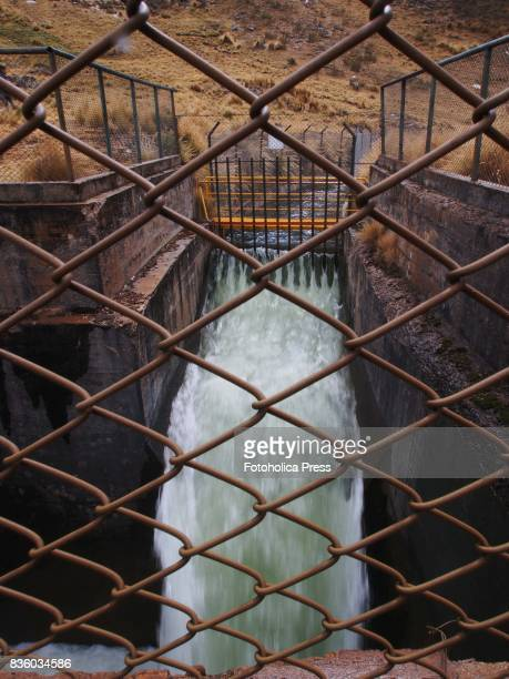 MARCAPOMACOCHA YAULI JUNIN PERU Inlet of the transAndean aqueduct tunnel The Lima Water and Sewerage Service organized a tour of its facilities 'By...