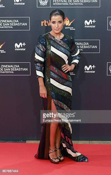 Inma Cuesta attends 'La Fille De Brest' premiere during 64th San Sebastian Film Festival at Kursaal on September 16 2016 in San Sebastian Spain