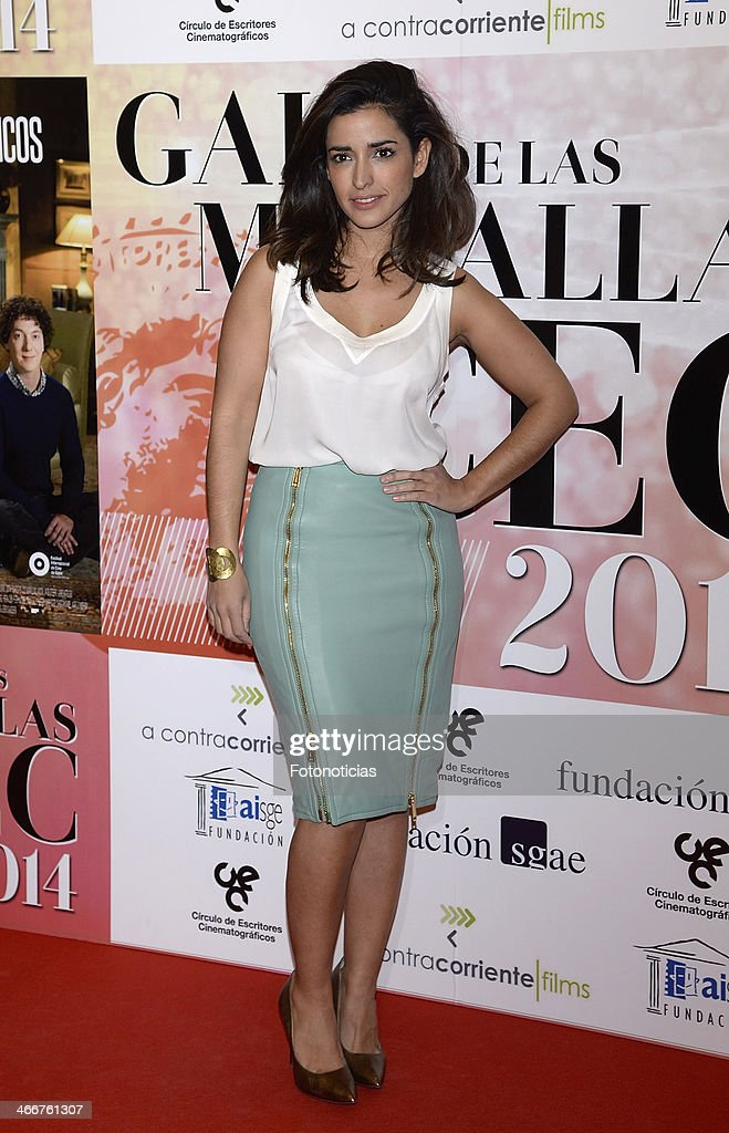 Inma Cuesta attends the 'CEC' medals 2014 ceremony at the Palafox cinema on February 3, 2014 in Madrid, Spain.